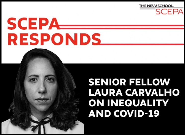 VIDEO— Senior Fellow Laura Carvalho on Inequality and COVID-19