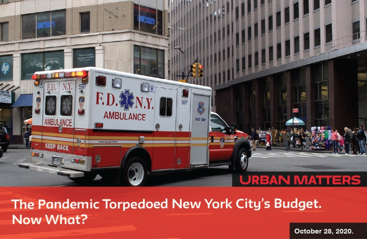 The Pandemic Torpedoed New York City's Budget. Now What?
